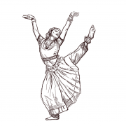 BharatnatyamDancingWoman