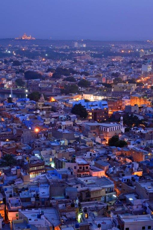 Jodphur City at Night_crop